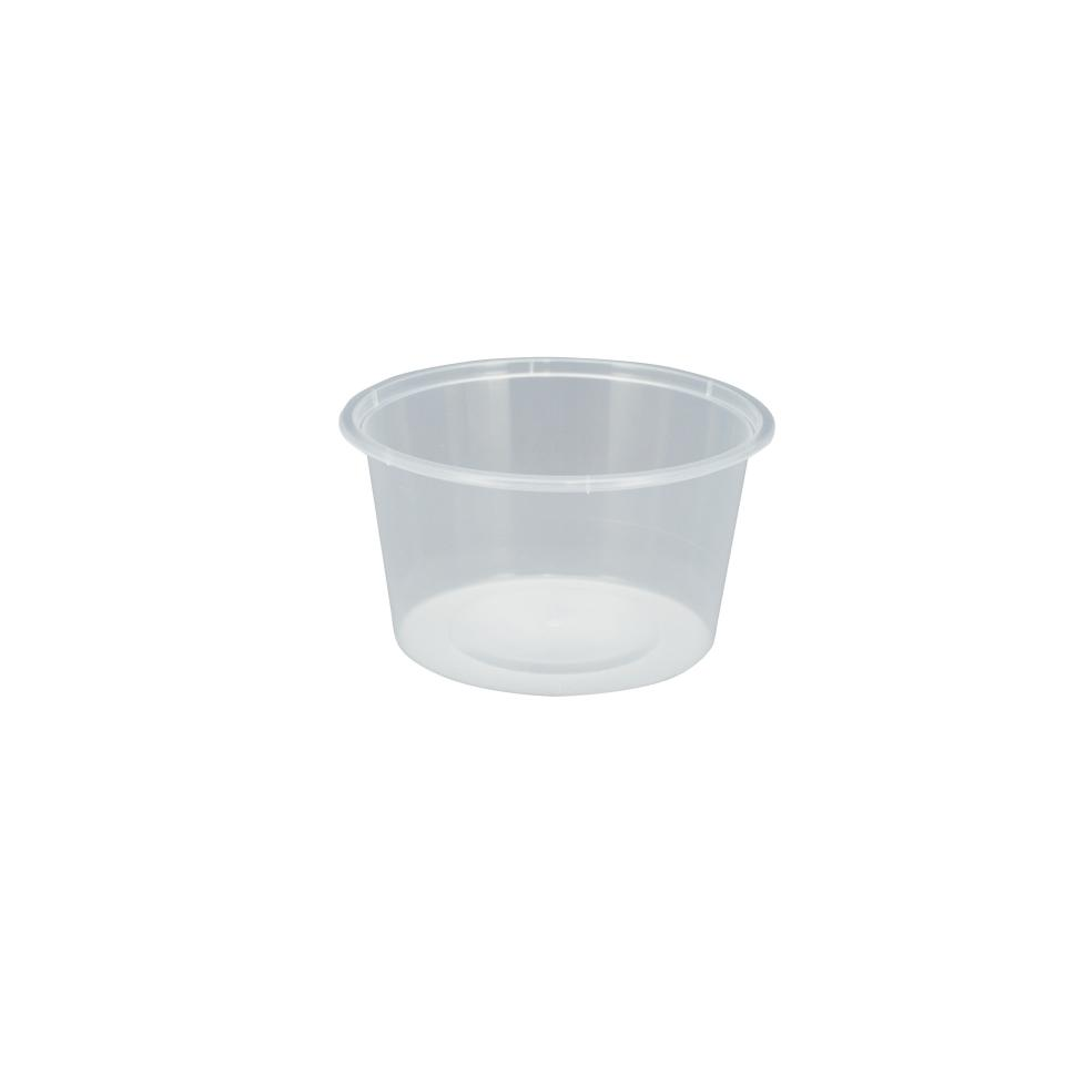 Chanrol Clear Round Polypropylene Container C16 440ml 500 Pack