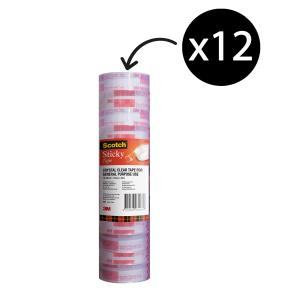 Scotch 500 Everyday Sticky Tape 12mmx33m 12 Roll Pk
