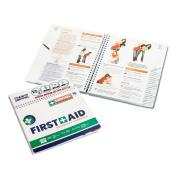 First Aid Handbook Spiral Bound Workcover Approved