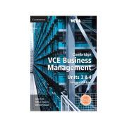Cambridge VCE Business Management Units 3 & 4 Julie Cain Et Al