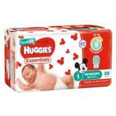 Huggies Essential Nappy Newborn Carton 112