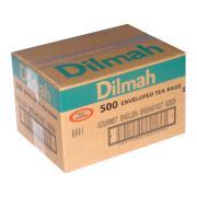 Dilmah Enveloped Tea Bags English Breakfast Carton 500
