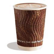 CCAB Indigenous Embossed Hot Cup 12Oz/400ml Indigenous Print Carton 480