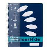 Colourhide My 5-Subject Notebook A4 250Pg Navy
