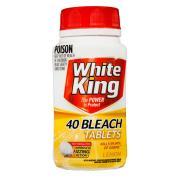 White King Bleach Tablets Lemon Pack 40