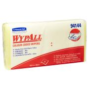 Wypall 94144 Yellow Colour Coded Cloth Pack of 20 Wipers
