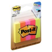 Post-It Page Markers Assorted Colours 12.7 X 44.4mm Pack 5