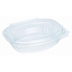 Huhtamaki Pet Freshclose Takeaway Container With Hinged Dome Lid 600ml Clear Carton 200