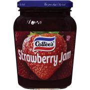 Cottees Conserve Strawberry Jam 500g