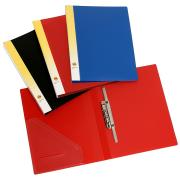 Marbig Punchless File PVC A4 Blue