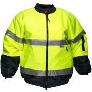 Prime Mover Wet Weather Bomber Jacket Day/Night
