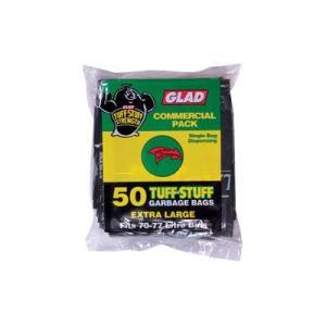 Glad Garbage Bag 78 Litre Black 30Um Box 200
