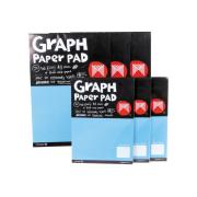 Micador Graph Pads 25 Sheets G12 1mm A4
