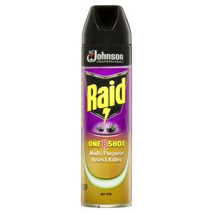 Raid One Shot Multi Purpose Insect Killer Citrus 375g