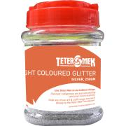 Teter Mek Bright Coloured Glitter 250g Silver