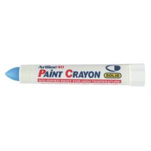 Artline 40 Paint Crayon Industrial Marker Blue