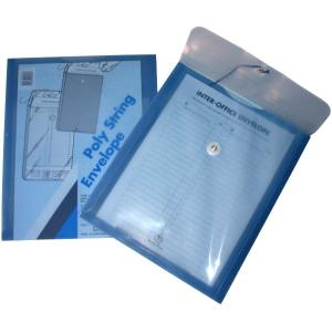 Colby Polystring Envelope A4 S/blue