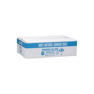Austar Bin Liners Premium Heavy Duty 140 Litre Clear Packet 50 Carton 200