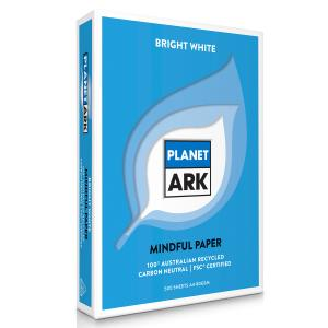 Planet Ark Copy Paper Carbon Neutral 100% Recycled A4 White 500 Sheet Box 5