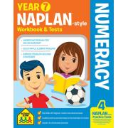 School Zone Year 7 Numeracy Naplan-style Workbook And Tests