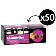 Esselte Superior Thimblettes Size 00 Dark Pink Each