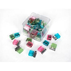 Carl Mori Clips Mc52 Small Assorted Colours Box 50