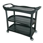 Cleera Utility Trolley Without Bucket 111.5 X 52.4 X 94cm Black