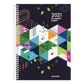 Milford 2021 Student Spiral Bound Diary A5 Week to View