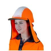 Visionsafe Gobi Hi Vis Over Hat Micromesh Orange 50+ Upf Each