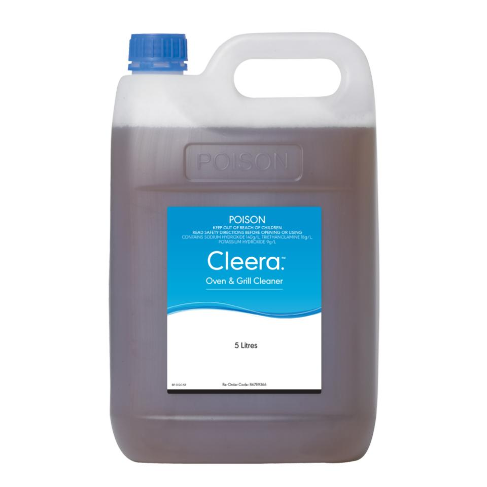 Cleera Oven And Grill Cleaner 5 Litre