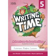 Writing Time 5 (Victorian Modern Cursive) Student Practice Book