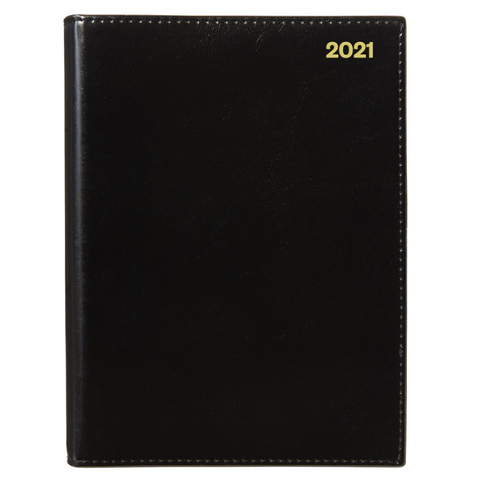 Winc 2021 Wiro Diary A5 Day to Page Black
