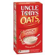 Uncle Tobys Quick Oats 1kg