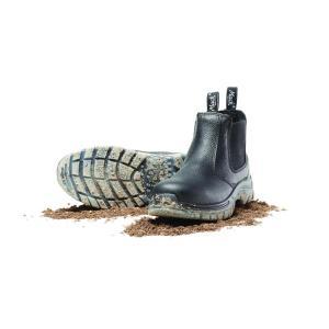 Mack Boots Mack Tradie Elastic Sided Boots Black