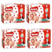 Huggies Essential Nappy Infant Carton 216