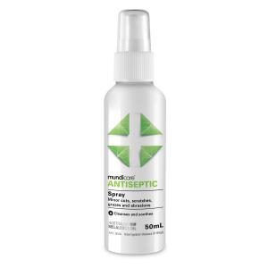 Mundicare First Aid Antiseptic Pump Spray 50ml