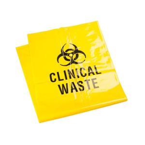 Austar Printed Clinical Waste Bag 65 Litre 910mm x 660mm Carton 200
