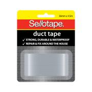 Sellotape Duct Tape 36mmx4.5m Silver