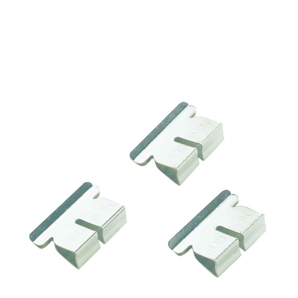 Winc Stainless Steel Clip Refill Medium Box of 50