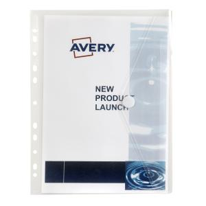 Avery Clear Plastic Binder Wallet with Filing Strip