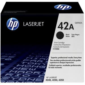 HP LaserJet 42A Black Toner Cartridge - Q5942A