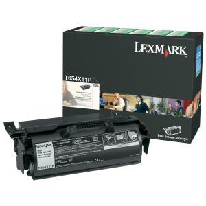 Lexmark T654X11P Black Toner Cartridge