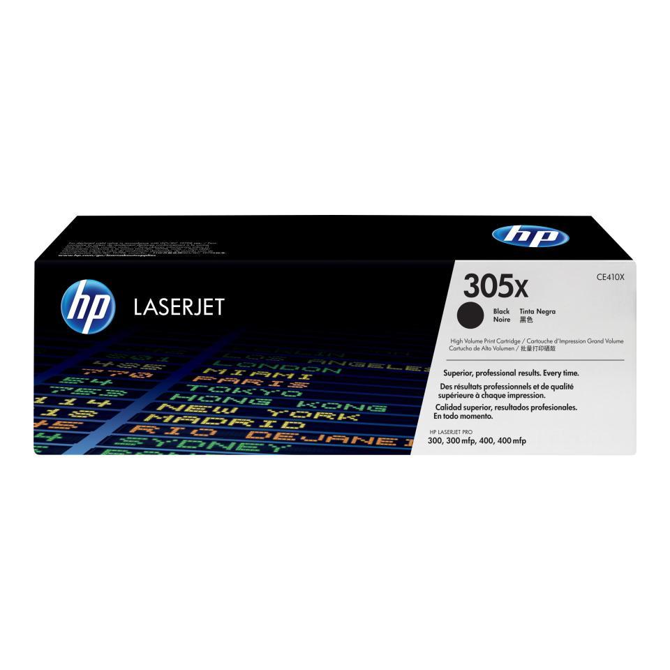 HP LaserJet 305X Black Toner Cartridge CE410X