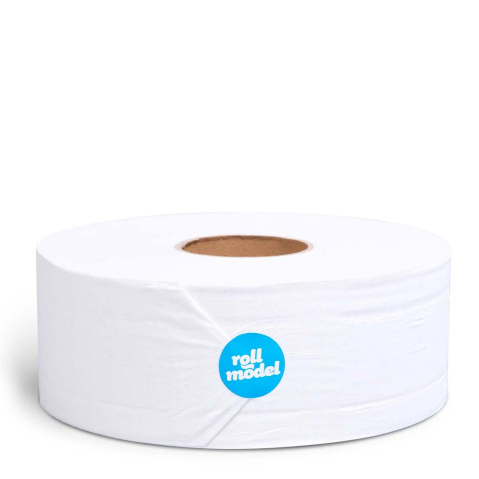 Who Gives A Crap Roll Model Jumbo Toilet Tissue Roll 2 Ply Recycled White Carton 12