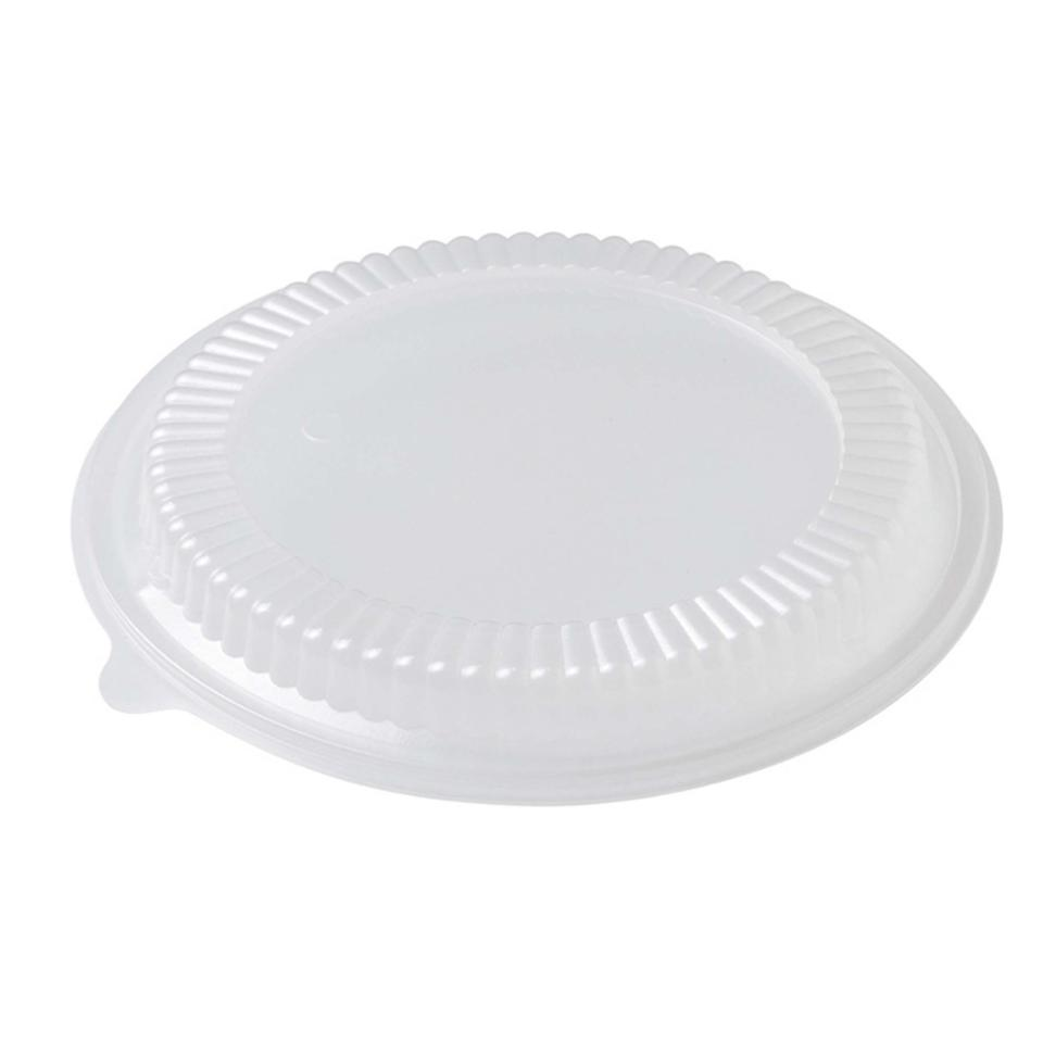 Castaway Takeaway Bowl Lids Round Home Meal Replacement 180mm Clear Carton 200
