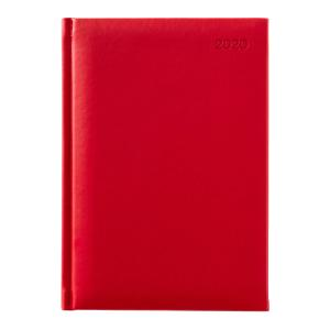 Winc Soft Touch 2020 Hard Cover Diary A5 Week to View Red