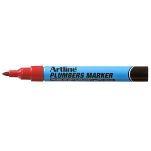 Artline Plumbers Marker Red - Box 12