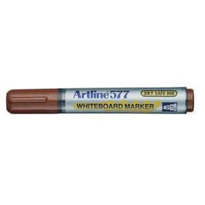 Artline 577 Whiteboard Marker Bullet Tip 2.0mm Brown