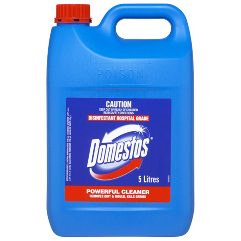 Domestos 5312581 Disinfectant Hospital Grade Regular 5 Litre