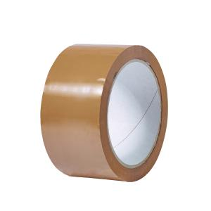 Staples Packaging Tape Pp31 Hot Melt 75mmx75m Brown Carton 24 Rolls